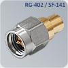S-M015R коаксиальный разъем для кабеля sf-141 и rg-402