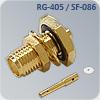 S-F135Q разъем для кабеля rg-405 и sf-086