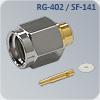 S-M115R свч разъем на кабель sf-086 и rg-402