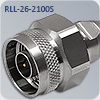 N-M117N СВЧ разъем N-type для радиочастотного кабеля RLL-26-2100S